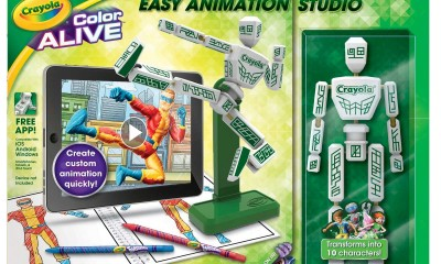 crayola color alive easy animation studio 2015 hottest toys