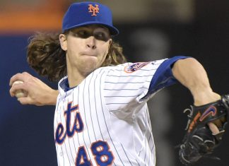 jason degrom national league bulge winner week 19 2015