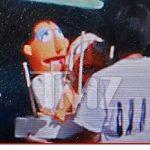jennifer aniston justin theroux muppet wedding cake