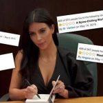 kim kardashian selfish book flops 2015