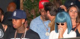 kylie jenner tyga with scott disick oak 2015 gossip