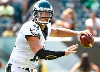 nfl preseason week 1 tim tebow bulging for eagles 2015 images