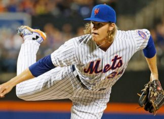 Noah Syndergaard national league week 17 winners losers 2015 images