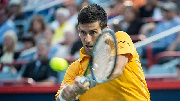 novak djokovic in semis for rogers cup 2015 images