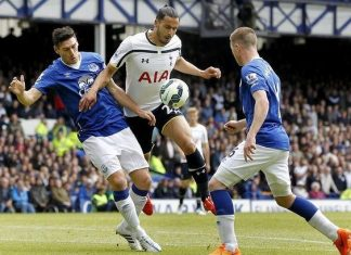 premier league week 4 spurs vs everton soccer 2015