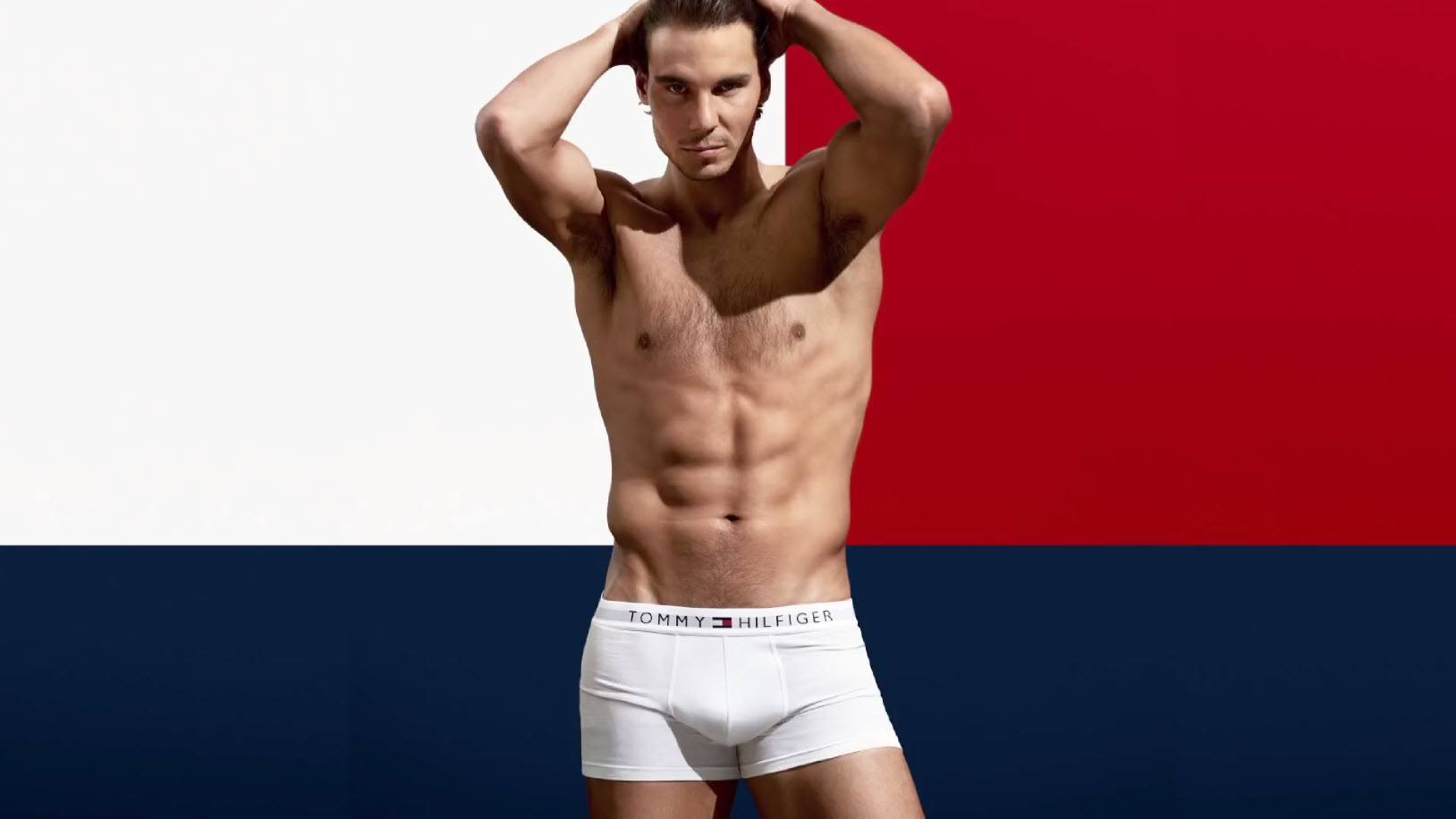 rafael nadal strips it down for hilfiger tennis 2015