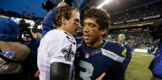 russell wilson chemistry hot with jimmy graham seattle seahawks 2015