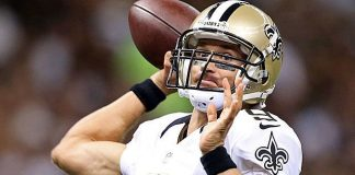 saints drew brees tears up new england patriots nfl 2015 images