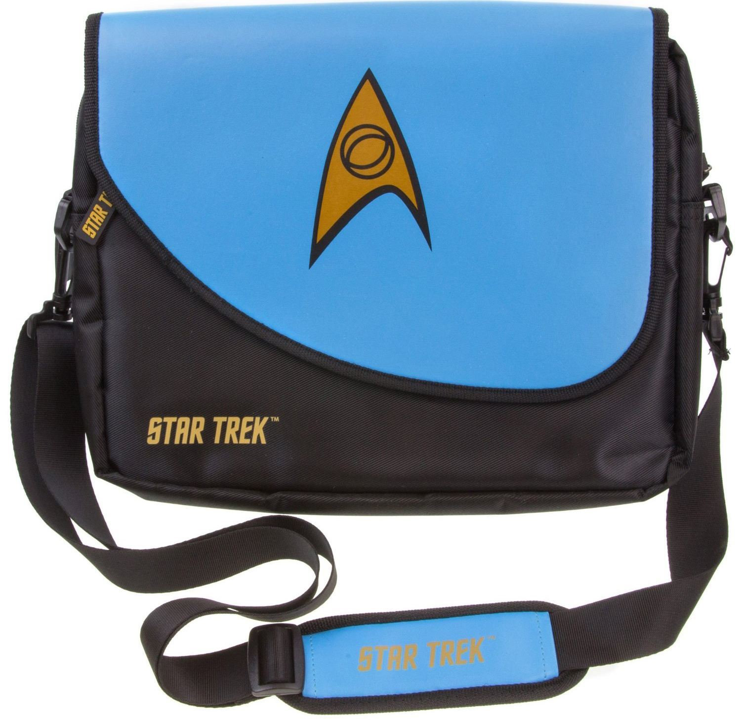 star trek blue uniform laptop bag 2015 hottest geek toys