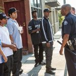 Straight Outta Compton theater issues 2015 gossip