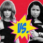 taylor swift vs nicki minaj feud biggest celebrity moments 2015