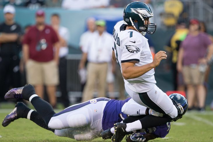 terrell suggs hit on sam bradford eagles 2015 nfl