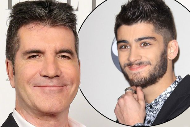 zayn malik with simon cowell 2015 gossip