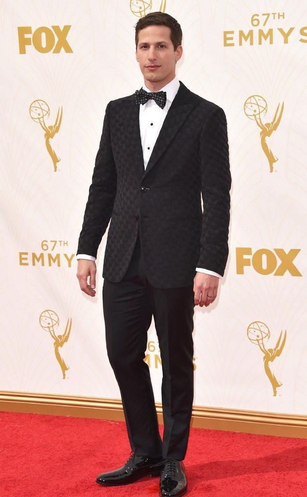 andy samberg emmy fashion winners losers 2015