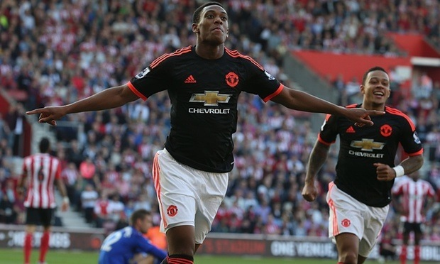 anthony martial manchester united first impressions images 2015 soccer