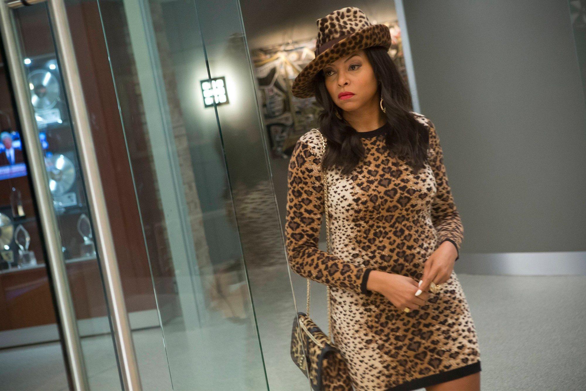 cookie lyon fashion leopard print