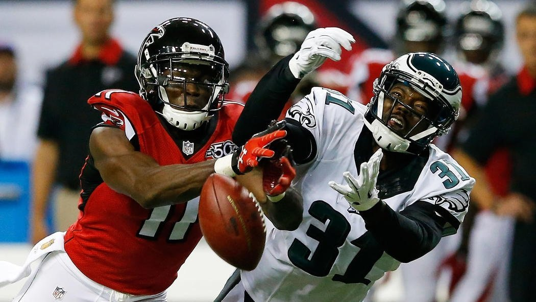 demarco murray darren sproles eagles come out equal with falcons 2015 nfl
