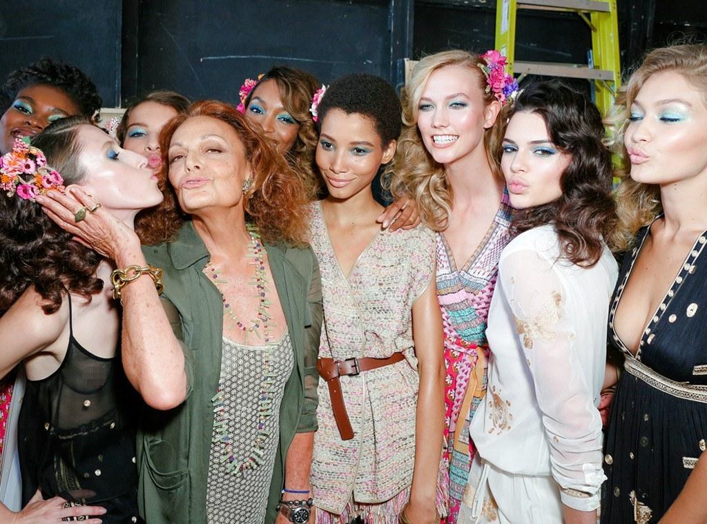 dionne von furstenberg fashion week karlie kloss 2015 gossip