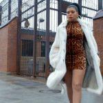 empire cookie lyon fashion leopard white fur 2015