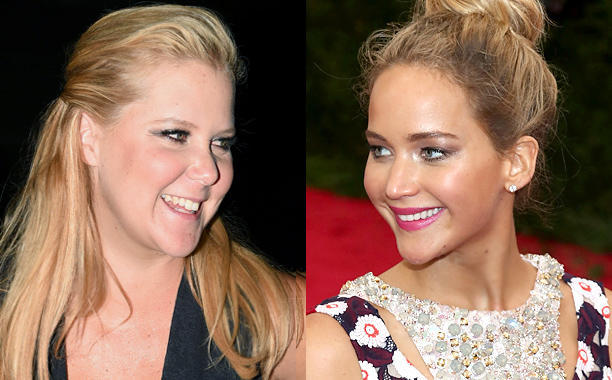 Jennifer Lawrence Amy Schumer Friendship Ariana Grande Goes Natural
