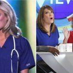 joy behar miss america nurse comment on the view 2015 gossip