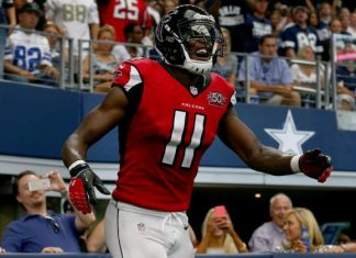 julio jones emerging wide receiver nfl falcons 2015