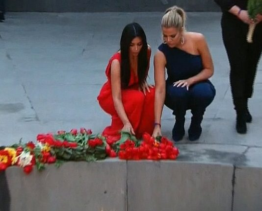 keeping up with the kardashians mother armenia recap images 2015