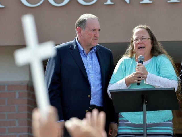 kim davis highlights our broken system of ethics images 2015 mike huckabee