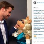 liam hemsworth with muppets miss piggy retro tv shows being remade 2015