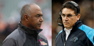 marvin lewis ron rivera nfl playoff coaches 2015 images