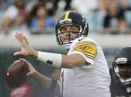 pittsburgh steelers shorthanded ben roethlisberger against patriots nfl 2015