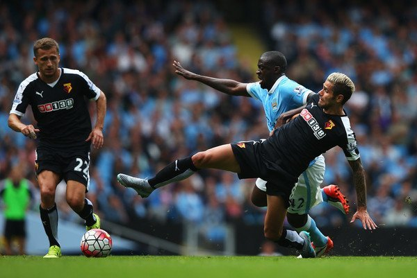 premier league week 4 manchester city vs watford soccer 2015 images