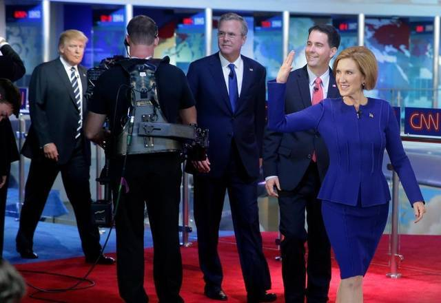 republican 2016 presidential debate winners losers 2015
