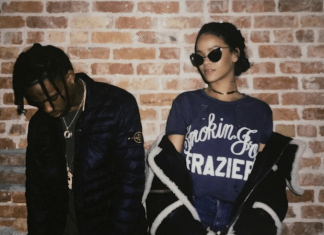 rihanna dating travis scott 2015 gossip