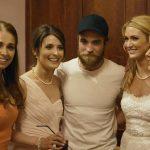 robert pattinson crashes wedding party 2015 gossip