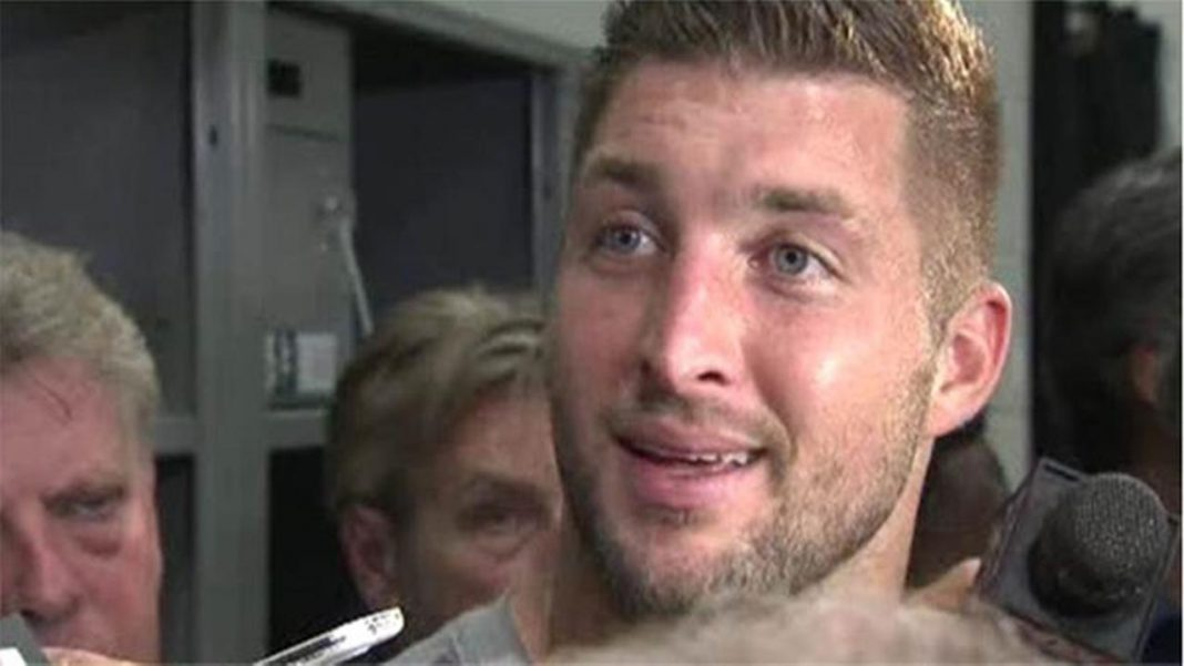 tim tebow cut from eagles 2015 nfl