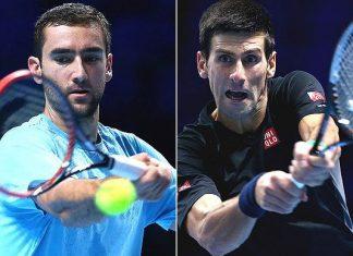 us open djokovic vs cilic federer 2015 tennis images