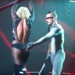 britney spears wardrobe concert malfunction 2015 gossip