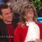 justin theroux opens up for ellen 2015 gossip
