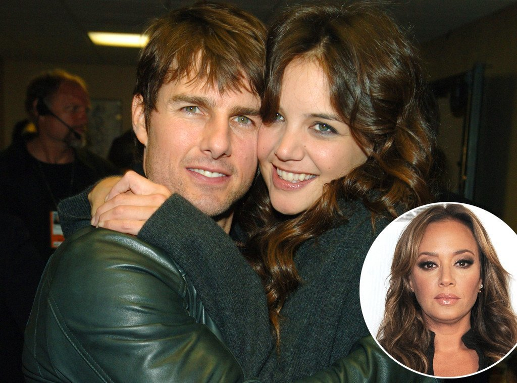 kate holmes responds to leah remini PDA 2015 gossip