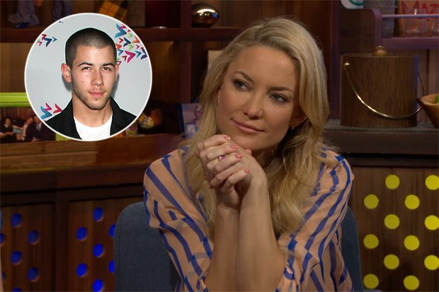 kate hudson says no to nick jonas 2015 gossip