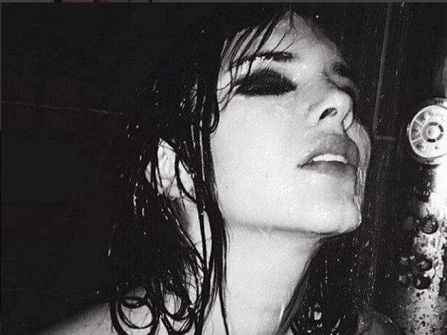 kendall jenner in shower 2015 gossip