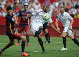 la liga week 7 soccer barcelona vs sevilla 2015