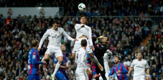 la liga week 8 review real madrid cristiano ronaldo vs levante soccer