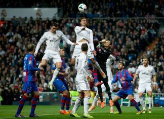 la liga week 8 review real madrid cristiano ronaldo vs levante soccer