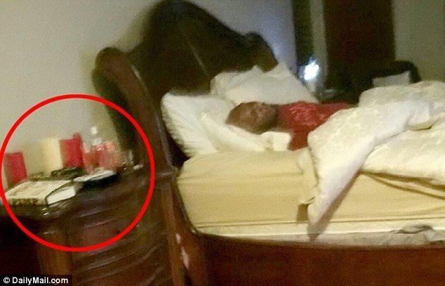 lamar odom asleep love ranch with sex toys 2015 gossip