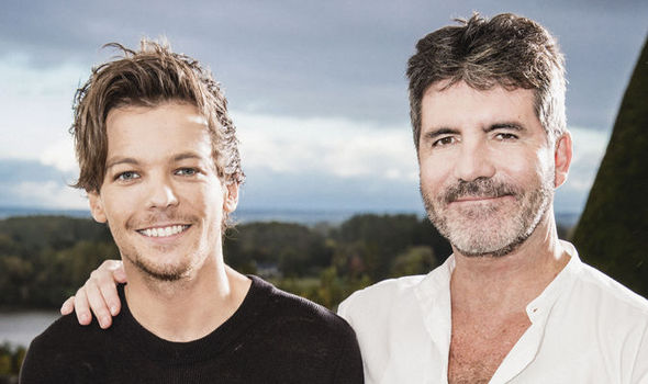 louis tomlinson girl band dream with simon cowell 2015 gossip