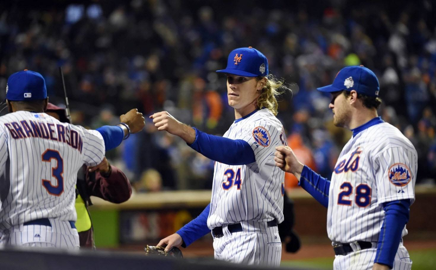 new york mets fight back winning game 3 world series 2015 images mlb
