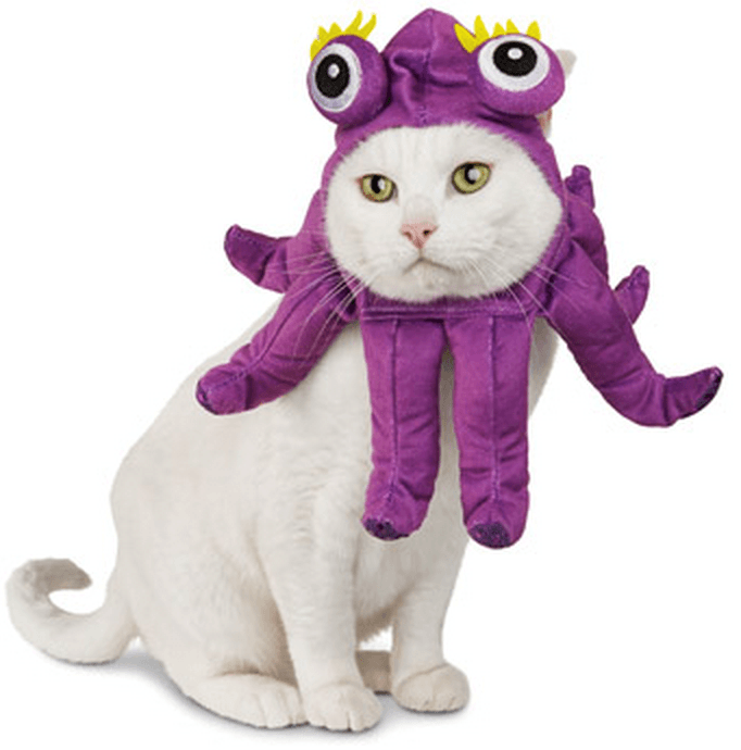 octopussy pet costume