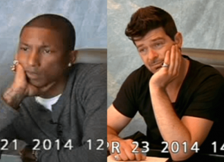 pharrell williams robin thick blurred memories 2015 gossip images